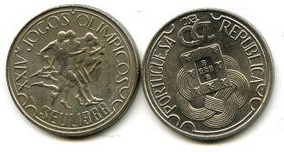250 эскудо 1988 год (Сеул) Португалия