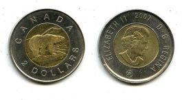 2 доллара 2007 год Канада