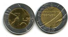500 лир 1990 год Сан-Марино