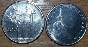 100 лир маленькая Италия