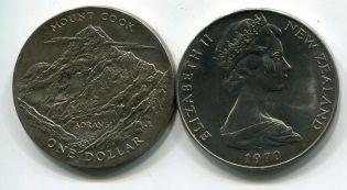 1 доллар Новая Зеландия