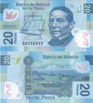 20 песо Мексика 2013 год