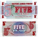 5 новых пенсов Великобритания