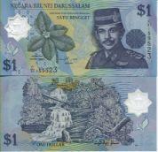 1 рингит 2007 год Бруней