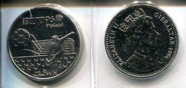 1 крона 1996 год Гибралтар