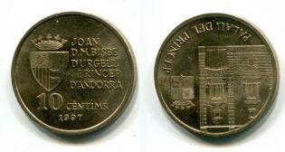 10 сентим 1997 год Андорра