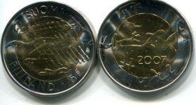 5 евро (90 лет независимости, 2007 г.) Финляндия
