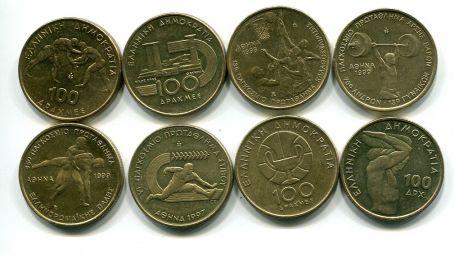 Набор монет Греции