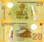 20 кордоб 2009 год Никарагуа