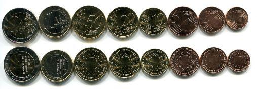 Набор монет евро Нидерландов