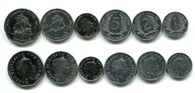 Набор монет Восточных Карибских штатов