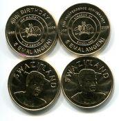 Набор монет Свазиленда (2 юбилейные монеты)