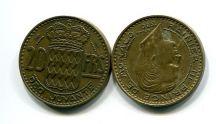 20 франков 1950 год Монако