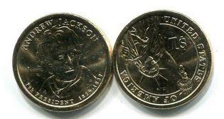 1 доллар 2008 год (Эндрю Джексон) США
