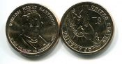 1 доллар 2009 год (Вильям Генри Харрисон 9-й президент) США