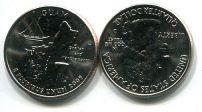 25 центов (квотер) 2009 год Гуам D США