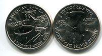 25 центов (квотер) 2009 год Самоа D США