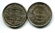 2 рупии 1982 год Непал