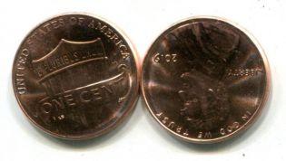 1 цент 2009 год (Линкольн) США