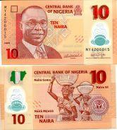 10 найра 2009 год Нигерия