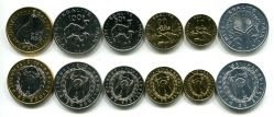 Набор монет Джибути (верблюды)