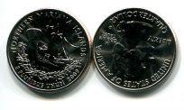 25 центов (квотер) 2009 год Северные Марианские острова США