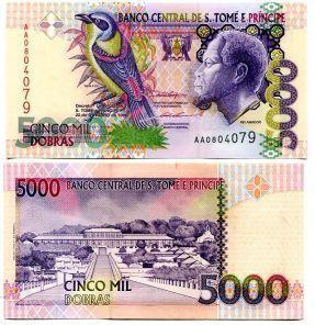 500 добра 1993 год Сан-Томе и Принсипи