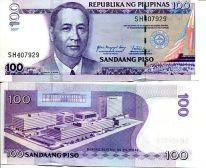 100 песо 2007 год Филиппины