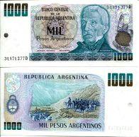1000 песо Аргентина