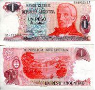 1 песо Аргентина