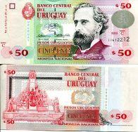 50 песо 2003 год Уругвай