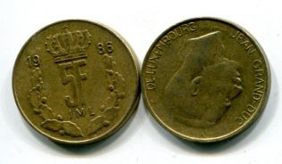 5 франков Люксембург