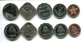 Набор монет Багамских островов