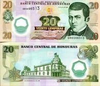 20 лемпир 2008 год Гондурас