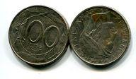 100 лир Италия (птица)