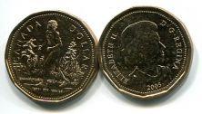 1 доллар 2005 год (Терри Фокс) Канада