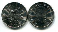 25 центов 2009 год (женский хоккей) Канада