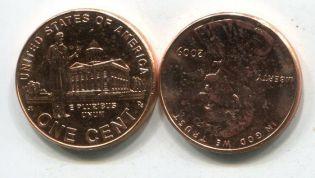 1 цент P 2009 год США