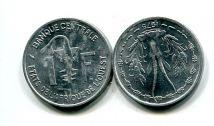 1 франк 1975 год Западно-Африканский Валютный Союз