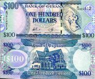 100 долларов Гайяна