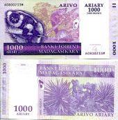 1000 ариари 2004 год Мадагаскар