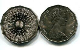 50 центов 1977 год (юбилей) Австралия