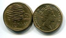 1 доллар 1993 год (охрана природы) Австралия