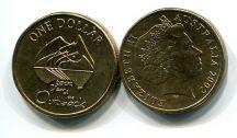 1 доллар 2002 год (незаселённые территории) Австралия