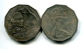 50 центов 1970 год (200 лет Д.Куку) Австралия