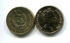 1 доллар 1986 год (год дружбы) Австралия