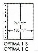 Лист для банкнот, акций и т.д. на 1 штуку Optima 1 С