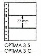 Лист для банкнот на 3 боны Optima 3 С