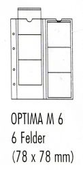 Лист для монет Optima М 6 (цена за 5 листов)