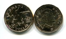 1 доллар 2008 (Олимпийская утка) Канада